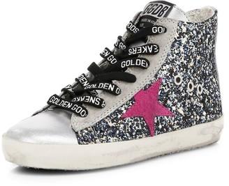 Golden Goose Baby's, Little Girl's & Girl's Francy Sparkle High-Top Sneakers