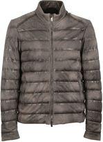 Tod's Brown Double Zip Padded Coat