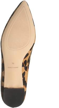 Cole Haan Brie Genuine Calf Hair Skimmer Flat