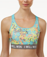 Energie Active Juniors' Bella Floral-Print Sports Bra