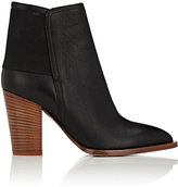 Vince WOMEN'S ELLEN LEATHER ANKLE BOOTS-BLACK SIZE 5