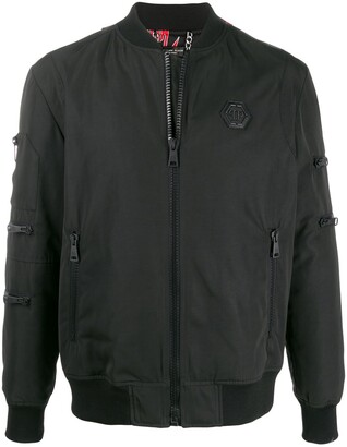 Philipp Plein Teddy Bear bomber jacket