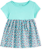 First Impressions Baby Girls' Solid & Geo-Print Babydoll Tunic, Only at Macy's