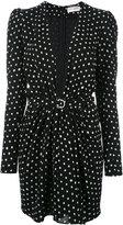 Saint Laurent polka dot dress