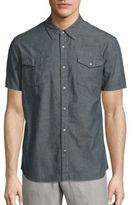 John Varvatos Contra Smoke Shirt
