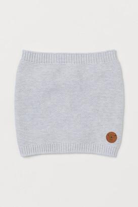 H&M Cotton Tube Scarf - Gray