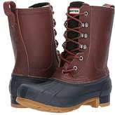 Hunter Insulated Pac (Burnt Sienna/Navy) Women's Boots