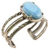 Barse Women's Bronze Turquoise Howlite Cuff Bracelet JUBIB03THW