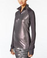 Material Girl Active Juniors' Metallic-Trim Jacket
