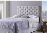 Baxton Studio Viviana Modern and Contemporary Full/Queen Size Light Beige Upholstered Button-tufted Headboard