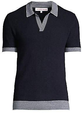 Orlebar Brown Men's Horton Classic Stripe Polo Shirt