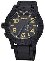 Nixon The Rubber 51-30 Watch - Men's ( Matte /Gold )