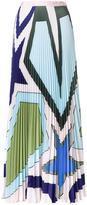 Mary Katrantzou 'Star Heart' pleated skirt