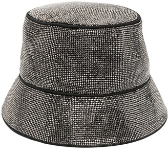 Kara Stud-Embellished Bucket Hat
