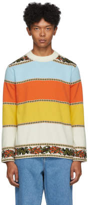 Linder Multicolor Merino Karik Stripe Sweater