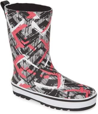 Western Chief Stripe Waterproof Rain Boot