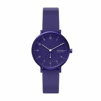 Skagen Men's Aaren Kulor Quartz Silicone Watch