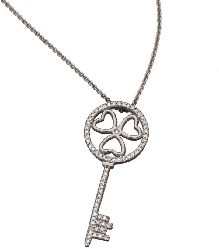 Brian Danielle Lucky Love Key Necklace