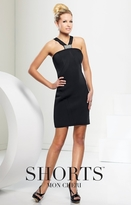 Mon Cheri TB Shorts by Mon Cheri - TS21582 Short Dress In Black