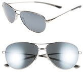 Smith Optics Women's 'Langley' 60Mm Aviator Sunglasses - Silver