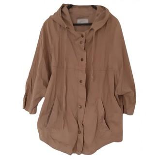 Current/Elliott Current Elliott Beige Cotton Jacket for Women