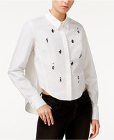 Rachel Roy Embellished High-Low Shirt, Only at Macy's