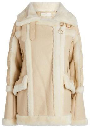 Nicole Benisti Montmartre Shearling-Lined Puffer Jacket