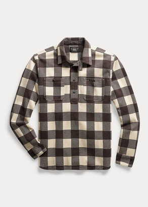 Ralph Lauren Plaid Jacquard Popover Workshirt