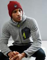 O'Neill Jeremy Jones Knit Beanie in Dark Red