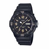 Casio Mens Black Strap Watch-Mrw200h-1b3v