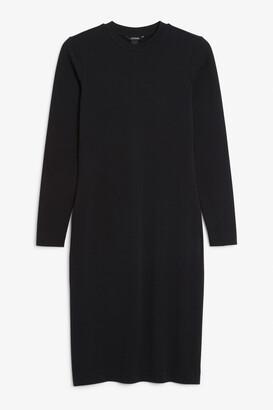 Monki Long-sleeve bodycon dress