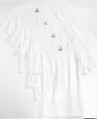 Hanes Men 4-Pk. Platinum Stretch T-Shirts