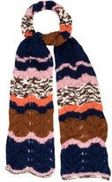 M Missoni Chunky Cable Knit Scarf