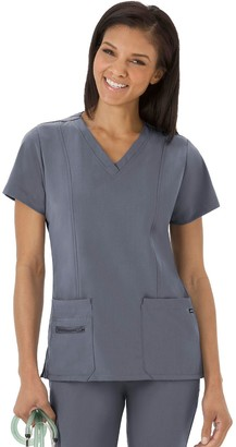 Jockey Women's Scrubs Modern Fit V-Neck Top 2309