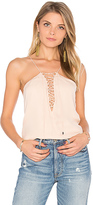 Haute Hippie Cross My Heart Cami in Blush. - size S (also in )
