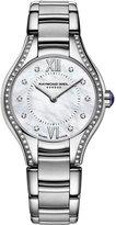 Raymond Weil Watch, Women's Swiss Noemia Diamond (1/10 ct. t.w.) Stainless Steel Bracelet 24mm 5124-STS-00985