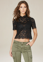 Bebe Lace Bralette Top