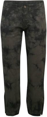RD Style Tie-Dye Woven Trousers