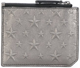 Jimmy Choo Belmont star-embossed cardholder - men - Calf Leather - One Size