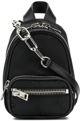 Alexander Wang mini zipped backpack