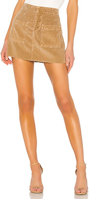 NSF Penelope Patch Pocket Mini Skirt