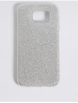 M&S Collection Samsung S6® Glitter Print Phone Case