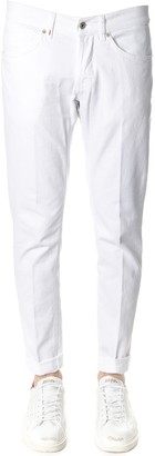 Dondup George White Color Cotton Jeans