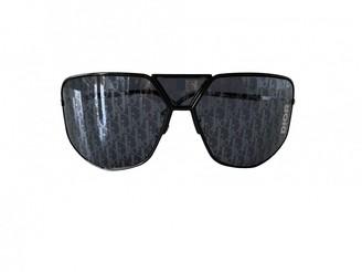 Christian Dior Blue Metal Sunglasses