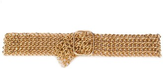 Philosophy di Lorenzo Serafini Wide Chain Belt