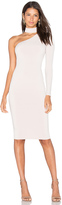 Nookie Girl Talk One Shoulder Midi Dress