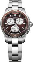 Victorinox Alliance Sport Women's 36.5mm Chronograph Quartz Date Watch V251502