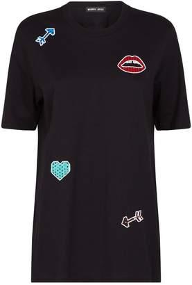 Markus Lupfer Alex Embellished Motif T-Shirt
