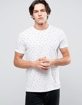 Esprit Ditsy Print T-Shirt in 100% Cotton
