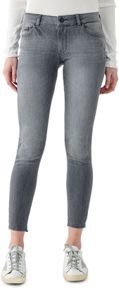 DL1961 Emma Low-Rise Cropped Skinny Jeans